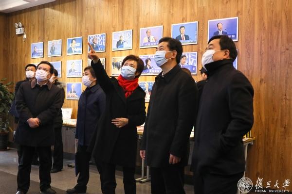 【复旦大学】上海市委副书记廖国勋调研复旦大学并主持召开部分高校党委负责同志座谈会